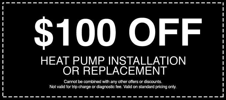 Discounts on Heat Pump Installation or Replacement