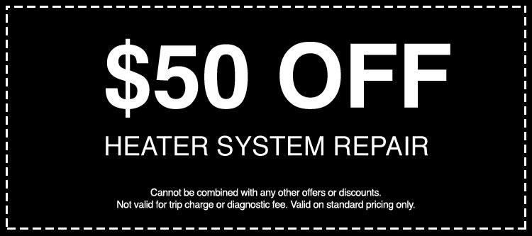 Discounts on Heater System Repair